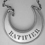 An unusual Spelling of RATAFIA by William Tucker & Co, Sheffield 1806